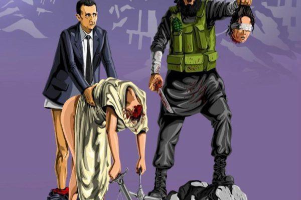 Conheça as artes do cartunista Gunduz Agayev- arte no caos19