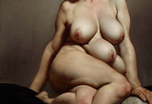 Conheça as pinturas de Roberto Ferri. Pinturas de inspiração barroca que mergulham na alma humana
