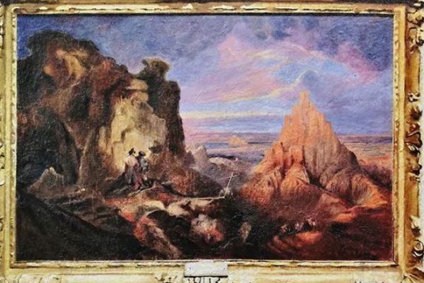 Artista replica pinturas famosas em lugares incomuns e abandonados 16