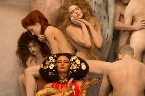 arte no caos pinturas ao vivo Inge Prader