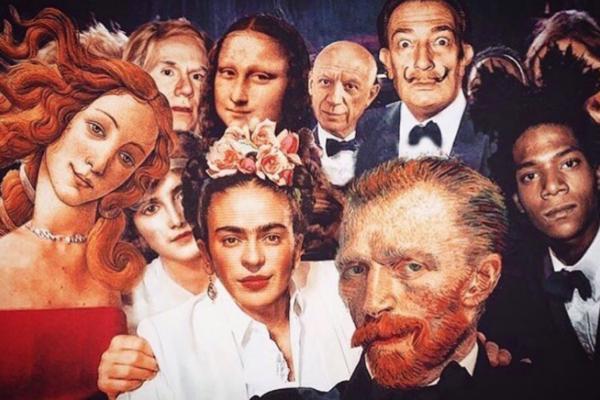 E se pinturas famosas fossem fotos reais arte no caos 3