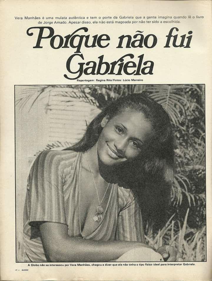 Porque nunca fui Gabriela